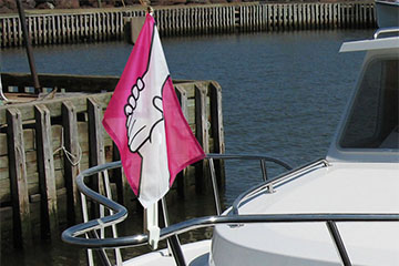 "12""x18"" Boat Flags"